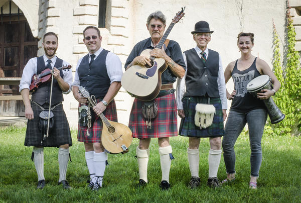 Image result for images of scots in kilts playing guitars