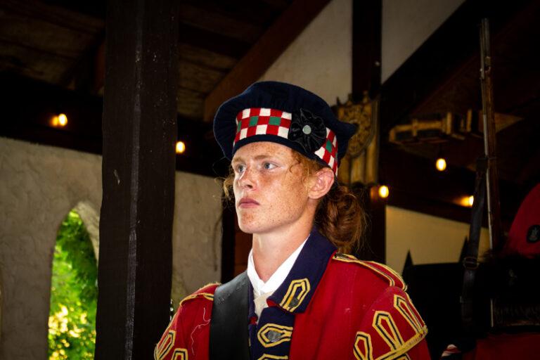 42nd Royal Highland Regiment drummer